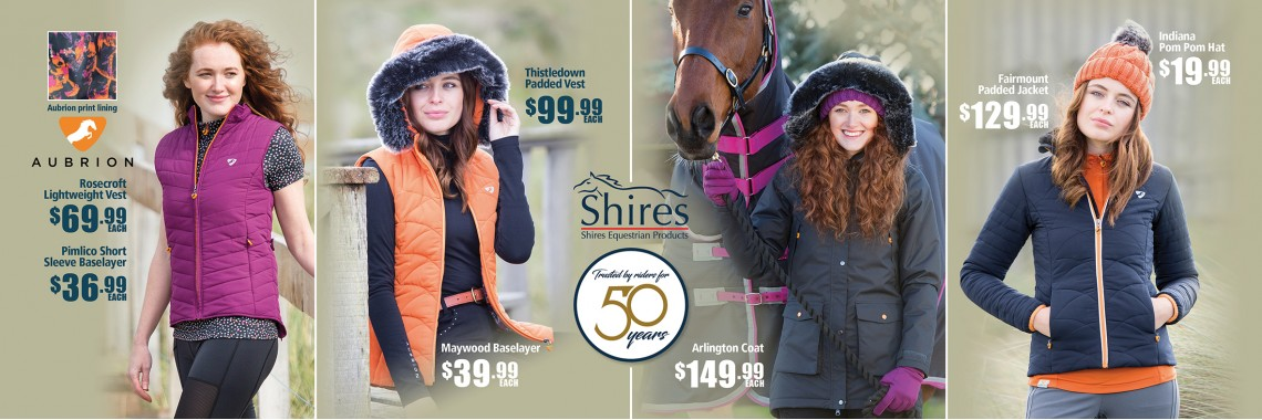 Shires Winter 2018