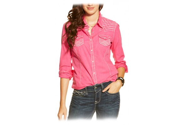 Ariat Wms Rook Ftd Snap Shirt