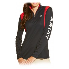 Ariat Wms Team Sunstopper 1/4 Zip