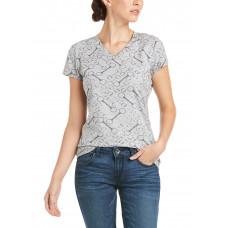 Ariat Wms Snaffle SS T-Shirt
