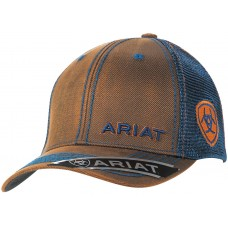 Ariat Mns Mesh Snap Closure Cap