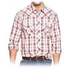 Ariat Mns Knox Plaid Snap Shirt
