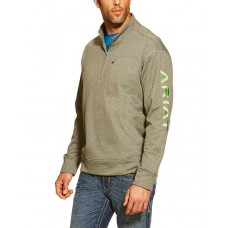 Ariat Mns Team Logo 1/4 Zip