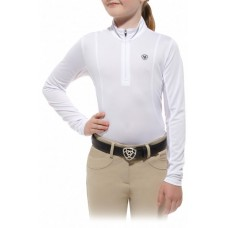 Ariat Girls Sunstopper Top Wht