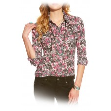Ariat Wms Hyde Print Snap Shirt