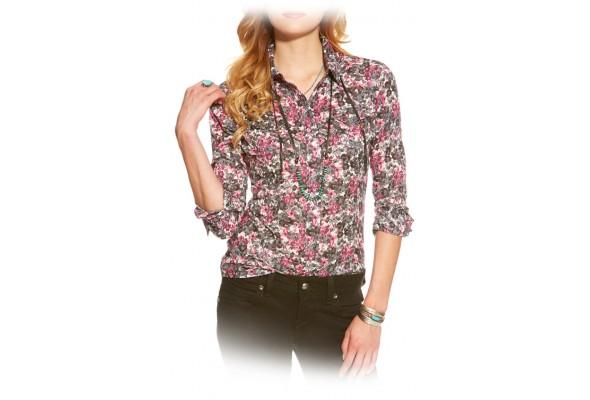 Ariat Wms Hyde Print Snap Shirt
