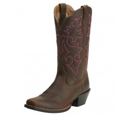 Ariat Womens Round Up Sq Toe