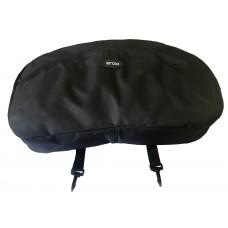 Enzo Nylon Cantle Bag