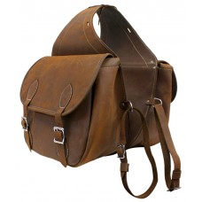 Origin Leather Saddle Bag