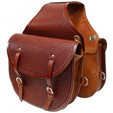 Origin Leather Saddle Bag w/Tooling