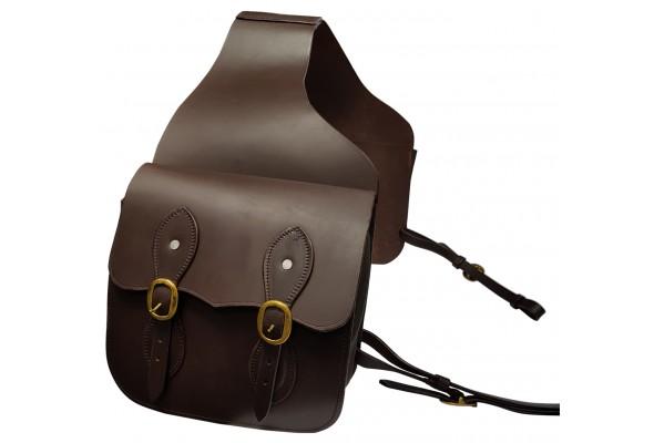 Origin Leather Double Saddle Bag