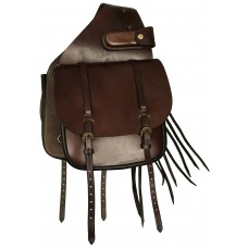 Origin Leather Saddle Bag with Tassels