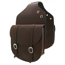 Prima Leather Saddle Bag