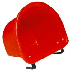 12L D Shaped Bucket w/Bracket