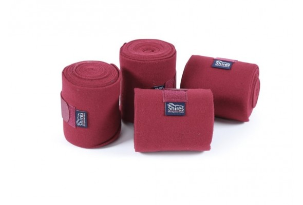 Shires Fleece Bandages Pack of 4