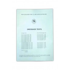 Dressage Test Book - Championship