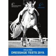 Dressage NZ Official Test Book 2019