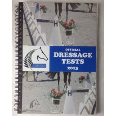 Dressage NZ Official Test Book 2013