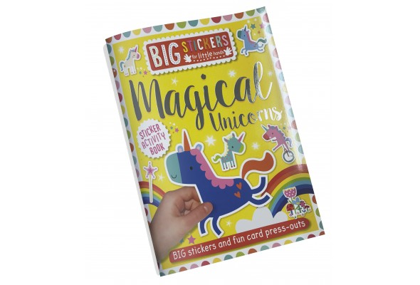 Big Stickers Magical Unicorns
