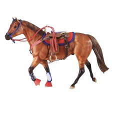 Breyer TR Western Riding Set Hot Colors