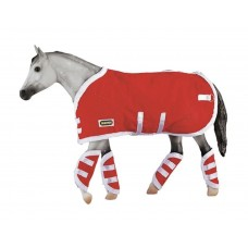 Breyer TR Blanket&Shipping Boots Red