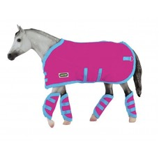 Breyer TR Blanket&Shipping Boots Pink