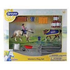 Breyer Stablemates Western Play Set