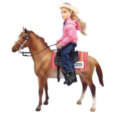Breyer FS Western Horse and Rider