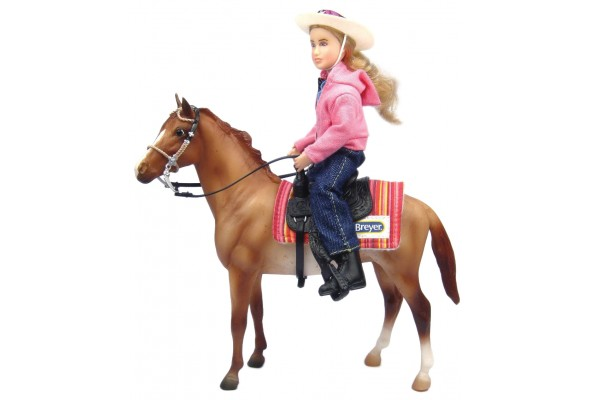 Breyer Classics Western Horse and Rider