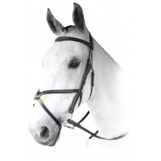 Enzo Euro Stitched Grackle Bridle