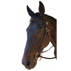 Origin Knotted Western Bridle w/Reins