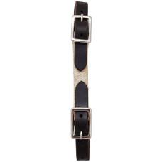 Origin A1 Leather Curb Strap w/Rawhide