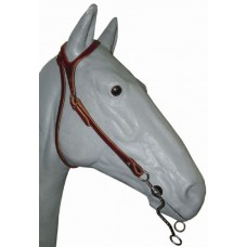 Weaver Latigo Shaped Ear Headstall