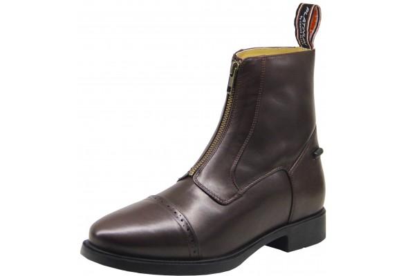 CA Platinum Leather Zip Boot