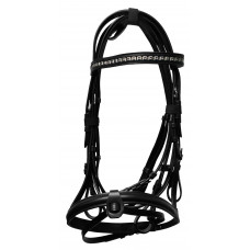 Clearance Leather Bridle with Web Rein