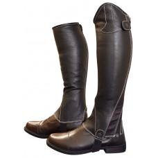 CA Leather Half Chaps