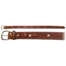 Origin Hand Carved Belt with Star