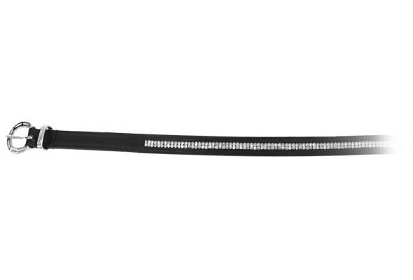 Enzo Leather Diamante Belt
