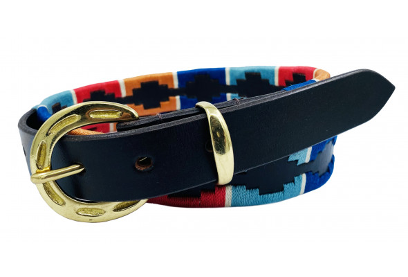 Enzo Polo Leather Belt