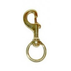 Lead Rope Clip - Brass