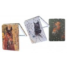 Horse Print Compact