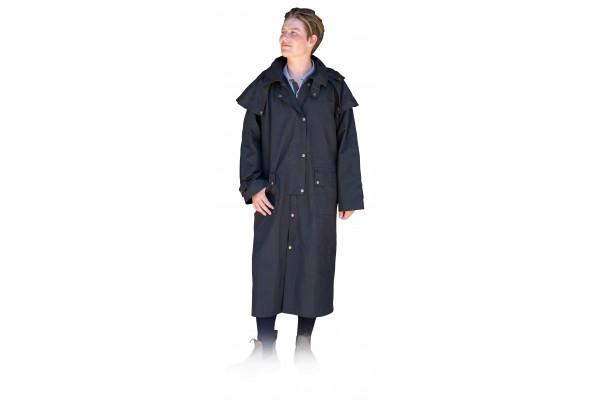 Oilskin Coat Long w/ Hood
