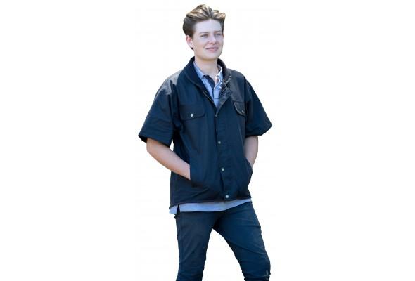 Oilskin Coat Short Sleeve