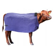 Cow Cover Canvas Wool Lined