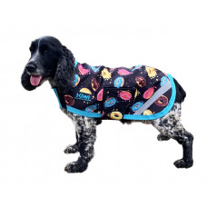 Kiwi Donut Dog Coat Fleece Lined