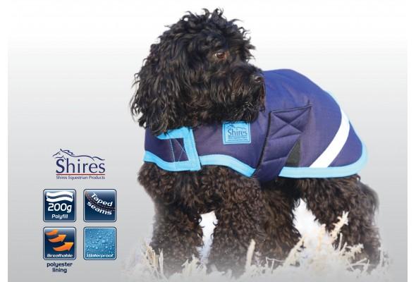 Shires Waterproof Dog Coat