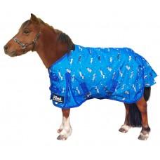 Kiwi Mini Rug w/Pony Print