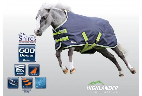 Shires Miniature Highlander Rug