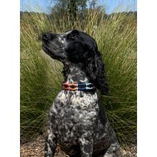 Enzo Polo Leather Dog Collar