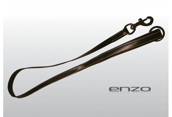 Enzo Leather Stitched Dog Lead